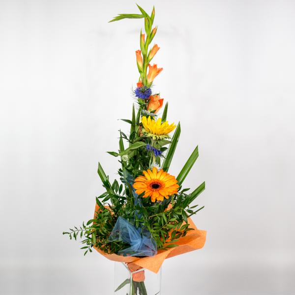 Miešaná kytica s gladiolou2
