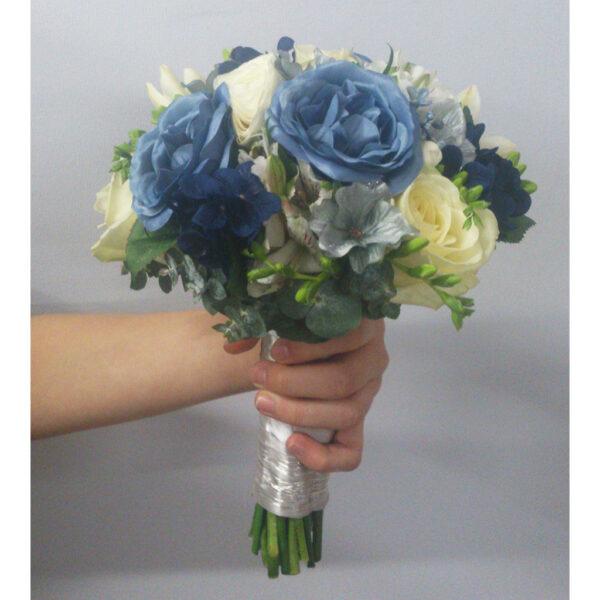 Kombinovaná kytica modro-biela