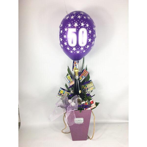 Kvetinový box 50-tka
