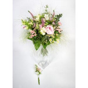 Poľná svadobná kytica