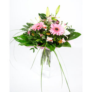 Sladká ružová kytica