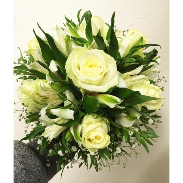 Svadobná kytica s alstromérií a ruží